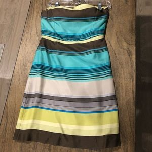 Silk Strapless Banana Republic Sundress